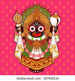 Hindu God Sri Jagannath, india