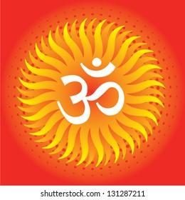 Hindu Religious Symbol Aum