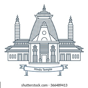 Hindu Temple Images Stock Photos Vectors Shutterstock