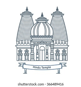 Indian Temple Silhouette Images Stock Photos Vectors Shutterstock