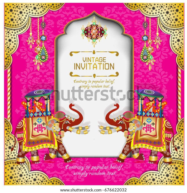 Hindu Wedding Knot Tied Man Woman Stock Vector Royalty Free