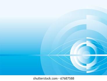 Hintergrund, Blueeye