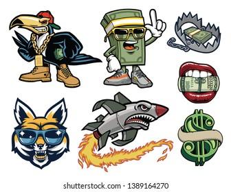 Hip Hop Hood Mascots Pack