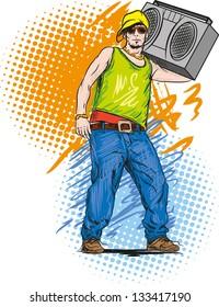 Hip-hop guy.
