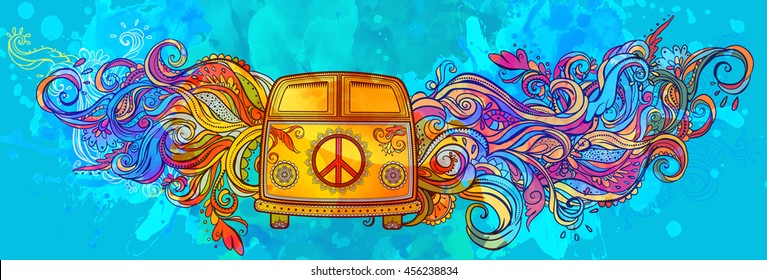 1960s Background Hippie Images Stock Photos Vectors Shutterstock