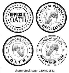 Hippocrates stamp set