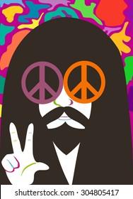 Hippy man