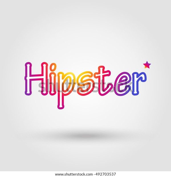 hipster app icon hipster icon sunset stock vector royalty free 492703537 shutterstock