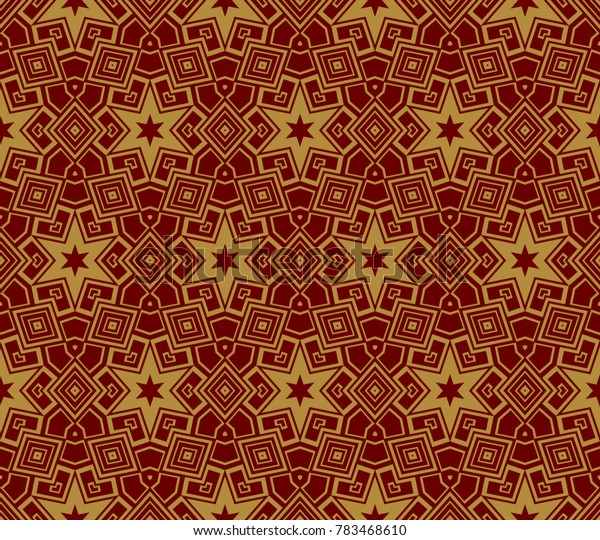 Hipster background. Geometric seamless pattern. Vector.