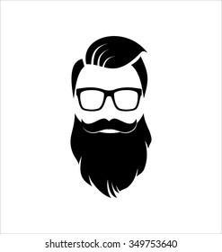 Hipster Black and White, Hairstyle.