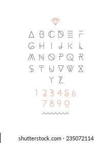 Hipster font, typeface, typography, typewriter, poster, type, text, sans serif
