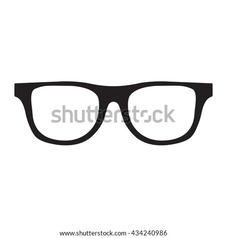 f7ffc7ad37f Hipster Glasses Icon Unisex Glasses Black Stock Vector (Royalty Free ...