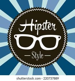 hipster graphic design , vector illustration