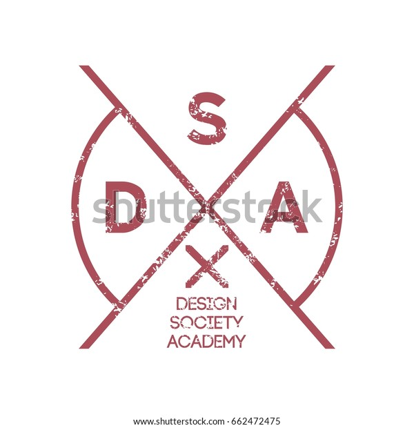 Hipster Logo Template Stock Vector (Royalty Free) 662472475