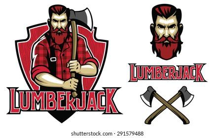 hipster look lumberjack
