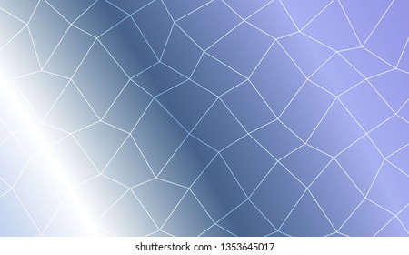 Hipster pattern with polygonal mesh elements. For modern interior design, fashion print. Vector illustration. Creative gradient color