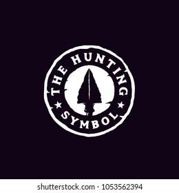 Hipster Rustic Hunting Badge Stamp Logo Design Inspiration