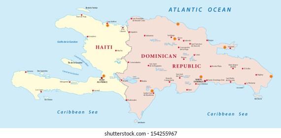 hispaniola map