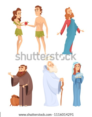 Poster: Historical characters of bible