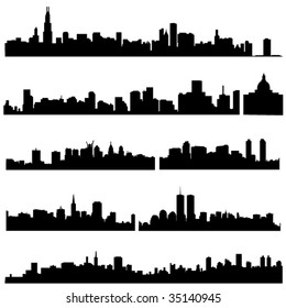 The history of American architecture and modern construction.