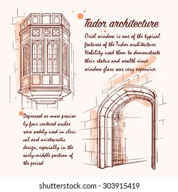 Tudor Arch Stock Illustrations, Images & Vectors | Shutterstock