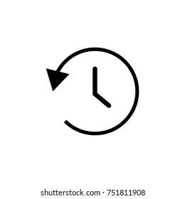 History icon vector design
