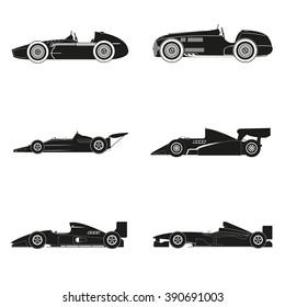 The history of race car