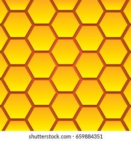 Hive Pattern Original Colors