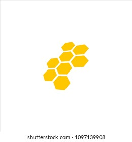 hive with perspective concept logo