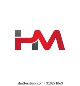 HM company group linked letter logo