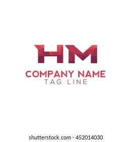 hm polygonal logo