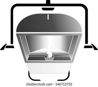 HMI Flood Light 250 WATT