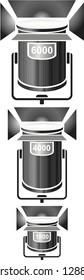HMI Fresnel Light