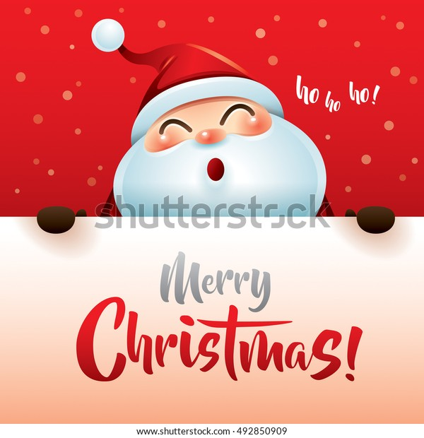 Ho Ho Ho Merry Christmas.Ho Ho Ho Merry Christmas Stock Vector Royalty Free 492850909