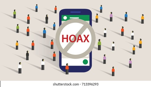 hoax news spread using group chat messaging app smart phone communication group of people