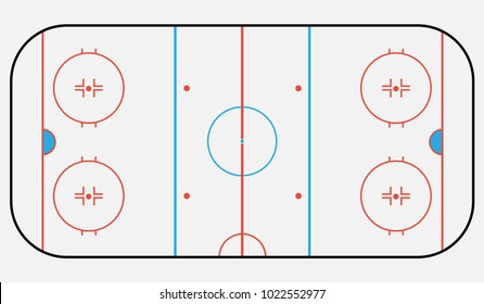 hockey arena backround.vector illustration eps 10