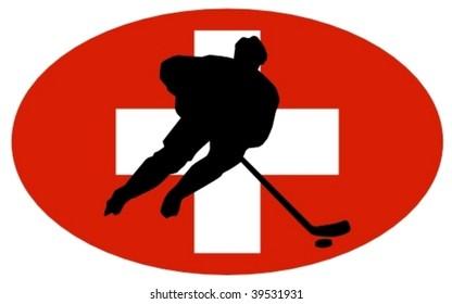 Hockey colors of Switzerland