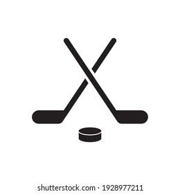 Hockey game equipment icon. Hockey Icon