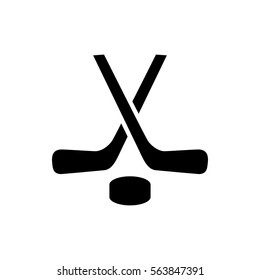 hockey icon illustration isolated vector sign symbol