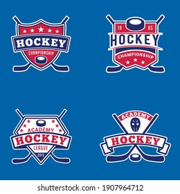 Hockey Logo Badges This design is fully vector and editable.