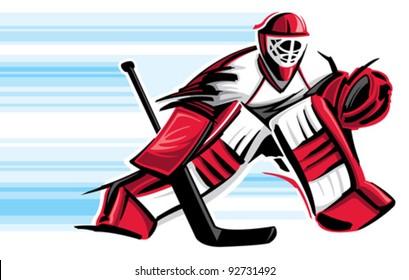 Hockey Goalie Images Stock Photos Vectors Shutterstock