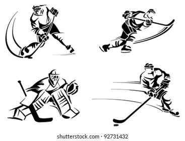 Hockey players