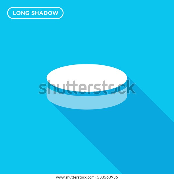 Hockey puck icon illustration isolated vector sign symbol