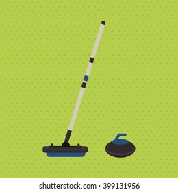 hockey sport design, vector illustration