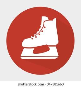 Hockey  sport game graphic design, vector illustration