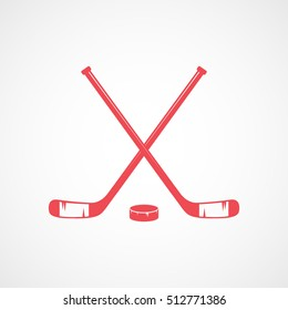 Crossed Hockey Sticks Images, Stock Photos & Vectors