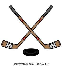 cartoon hockey images stock photos vectors shutterstock rh shutterstock com cartoon pictures of hockey sticks cartoon hockey stick and puck