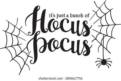 Hocus Pocus Halloween Vector Art