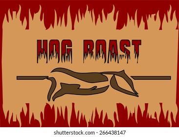 hog roast.