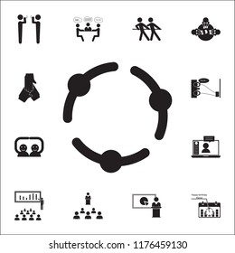 Couple silhouette stock vectors images vector art shutterstock holding hands icon conversation and friendship icons universal set for web and mobile freerunsca Choice Image